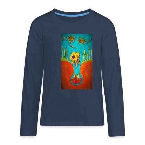Kotelo - Teinien premium pitkähihainen t-paita