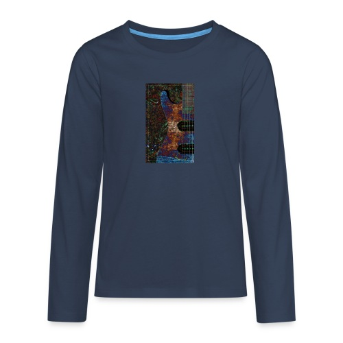 Music t-shirts - Teenagers' Premium Longsleeve Shirt