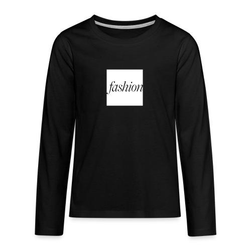 fashion - Teenager Premium shirt met lange mouwen