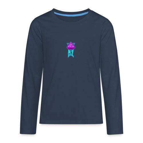AZ ILLUMINATI - Teenagers' Premium Longsleeve Shirt