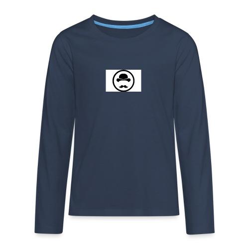 Bigote Logo La Trompa - Camiseta de manga larga premium adolescente