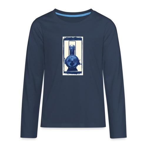Lok Lantern - Teinien premium pitkähihainen t-paita