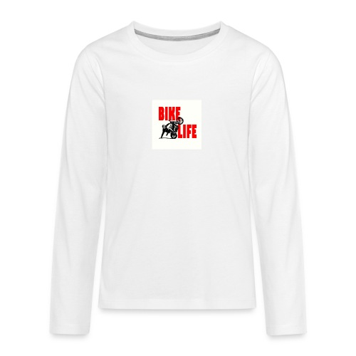 KEEP IT BIKELIFE - Teenagers' Premium Longsleeve Shirt