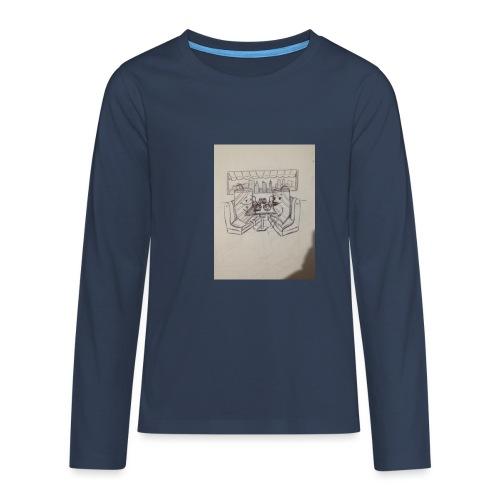 Compartimos juntos - Camiseta de manga larga premium adolescente
