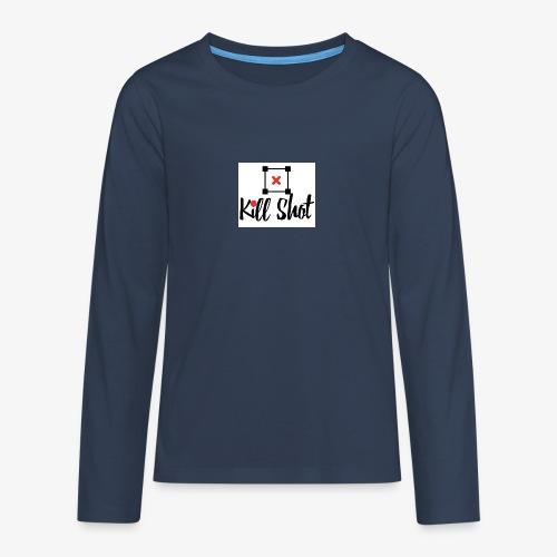 Kill Shot - Teenager Premium Langarmshirt