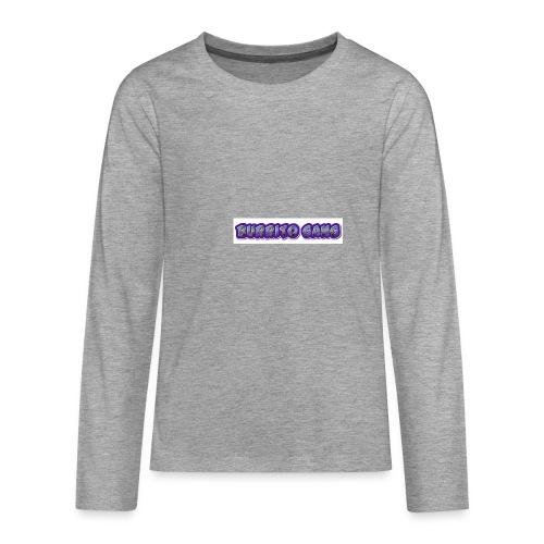 BURRITO GANG MALLISO - Teinien premium pitkähihainen t-paita