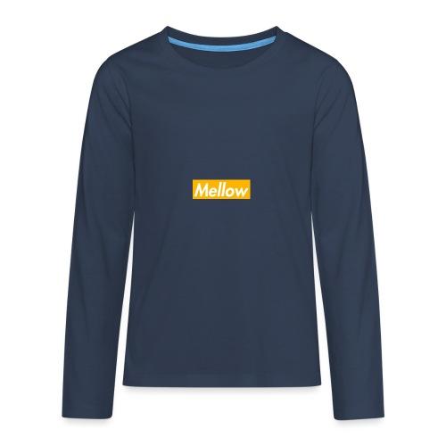 Mellow Orange - Teenagers' Premium Longsleeve Shirt