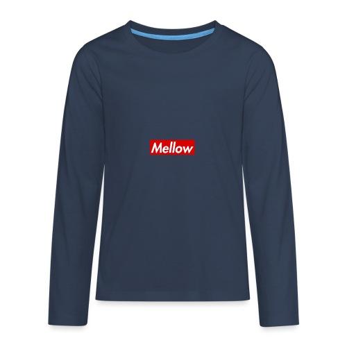 Mellow Red - Teenagers' Premium Longsleeve Shirt