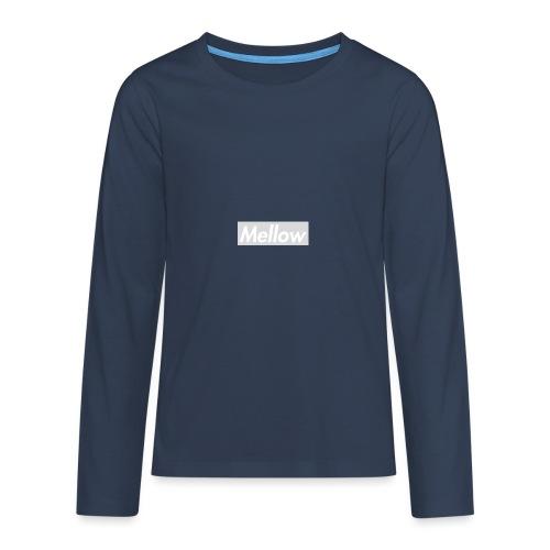 Mellow White - Teenagers' Premium Longsleeve Shirt