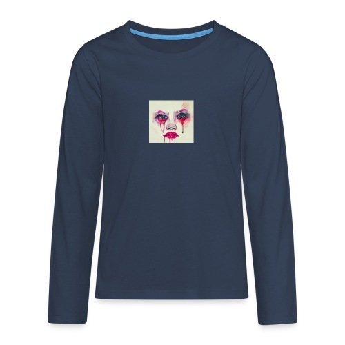 4-jpeg - Camiseta de manga larga premium adolescente