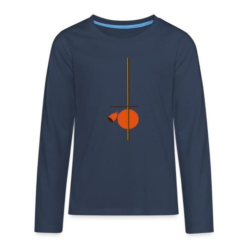 berimbau caxixi - Teenagers' Premium Longsleeve Shirt