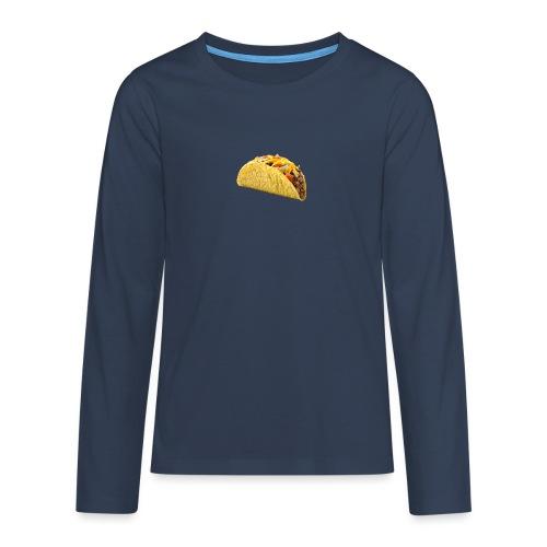 IMG 2230 - Långärmad premium T-shirt tonåring