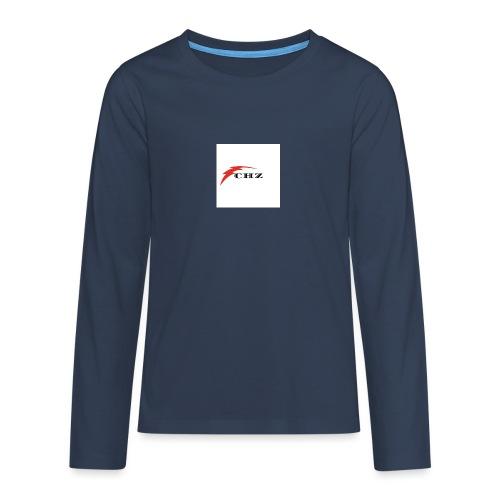 CHZ LAZER - Maglietta Premium a manica lunga per teenager
