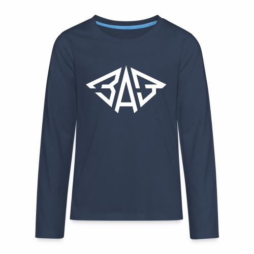 SAS ZAZ Saporoshez logo - Teenagers' Premium Longsleeve Shirt