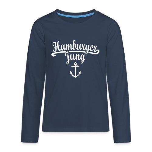 Hamburger Jung Klassik Hamburg - Teenager Premium Langarmshirt
