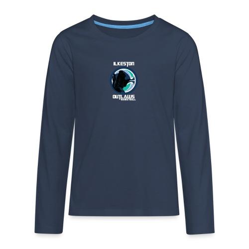 Bowman Title WHT png - Teenagers' Premium Longsleeve Shirt