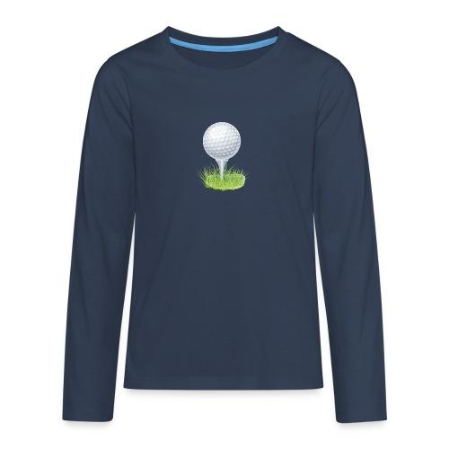 Golf Ball PNG Clipart - Camiseta de manga larga premium adolescente