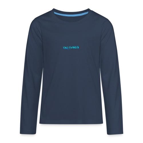 fin_sargi minilogo - Teinien premium pitkähihainen t-paita