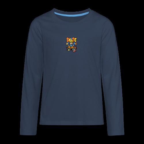 t-shirt enfant - T-shirt manches longues Premium Ado