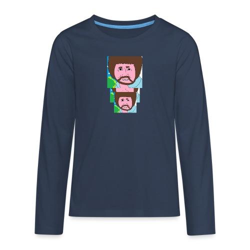 Bob Ross - Teenagers' Premium Longsleeve Shirt