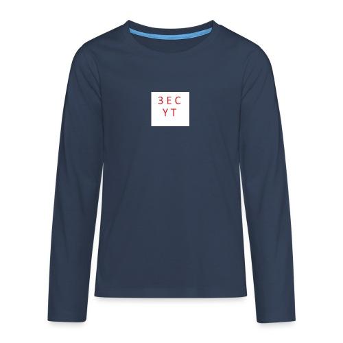 3ec yt - Teenager Premium Langarmshirt
