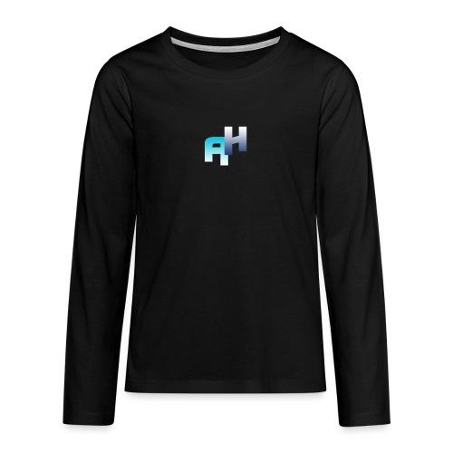 Logo-1 - Maglietta Premium a manica lunga per teenager