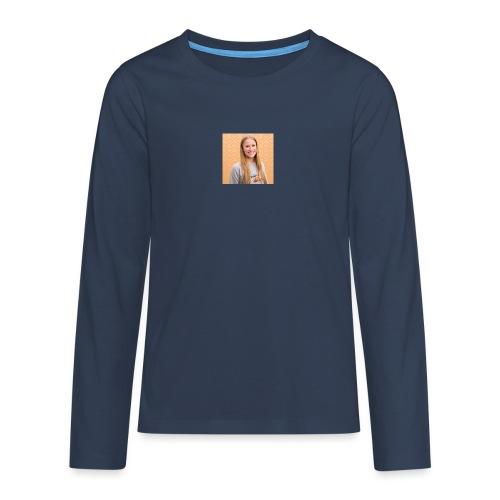 sara forum profile - Teinien premium pitkähihainen t-paita