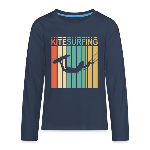 Kitesurfing - T-shirt manches longues Premium Ado