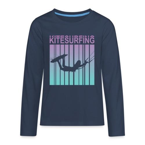 Kitesurfing - Teenagers' Premium Longsleeve Shirt