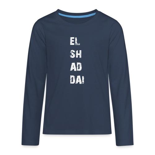 EL SH AD DAI 2 - Teenager Premium Langarmshirt