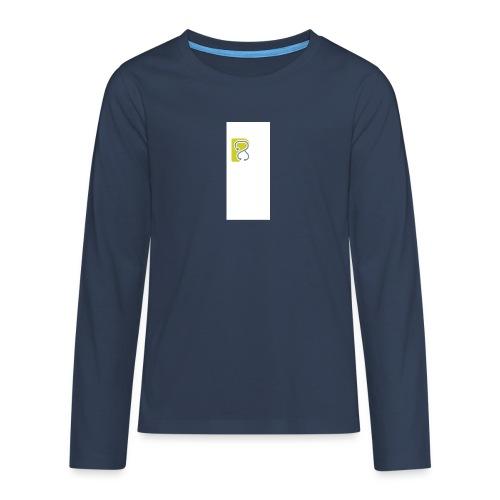 LogoTS - Teenager Premium Langarmshirt