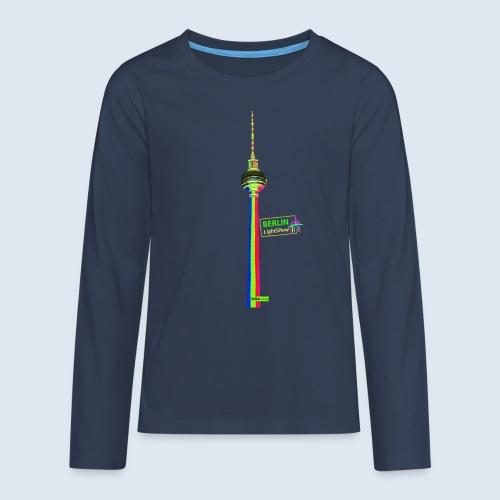 "Berliner Original ""Fernsehturm"" PopArt Design - Teenager Premium Langarmshirt"