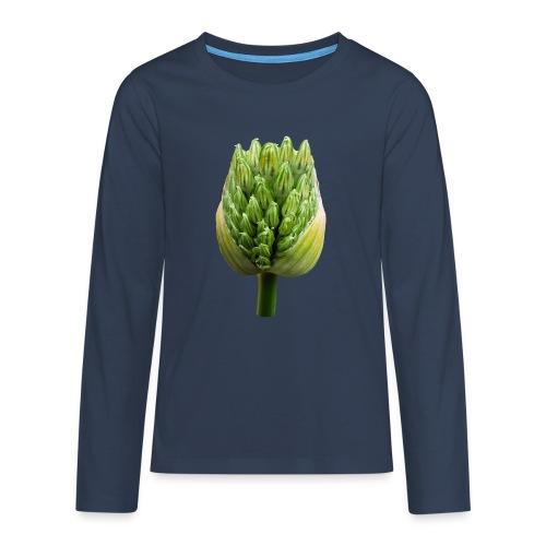 TIAN GREEN Garten - Lauchblütenknospe 2020 01 - Teenager Premium Langarmshirt