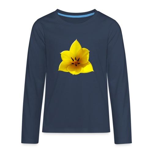 TIAN GREEN Garten - Tulpe 2020 02 - Teenager Premium Langarmshirt