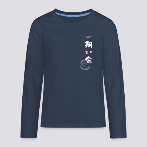 [DOJO] Straume Karateklubb Clothing - Teenager Premium shirt met lange mouwen