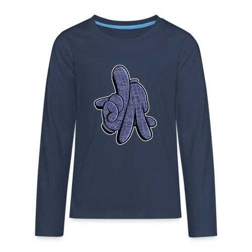 LA hands - Teenager premium T-shirt med lange ærmer