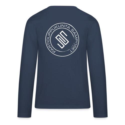 Leima läpinäkyvä - Teinien premium pitkähihainen t-paita