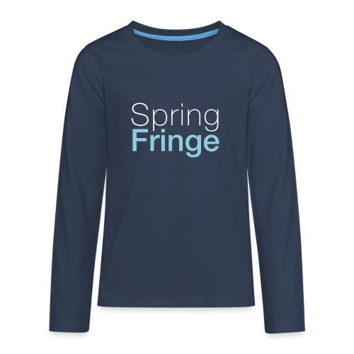 Spring Fringe Kids (small sizes) - Teenager Premium Langarmshirt