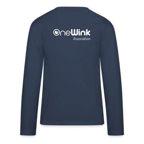 OneWink Association - T-shirt manches longues Premium Ado