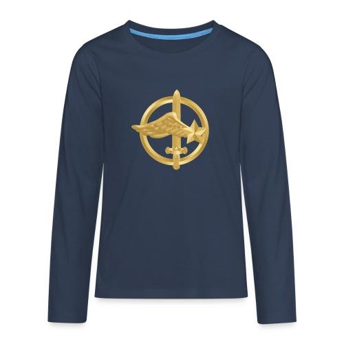 Tasse Fusiliers Commandos de l'Air - T-shirt manches longues Premium Ado