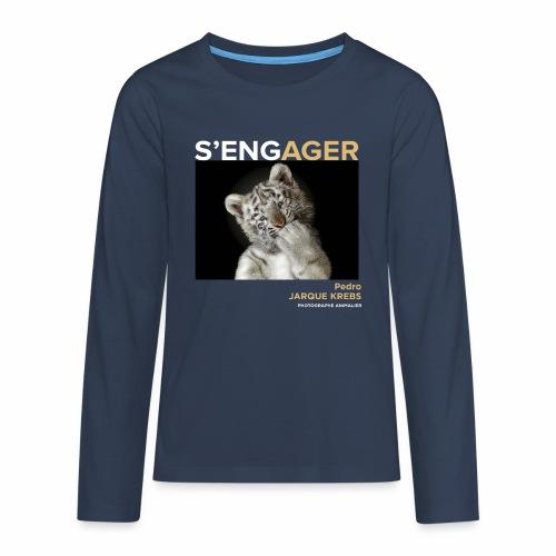 1 Achat = 1 Don à l'association Rainfer - T-shirt manches longues Premium Ado