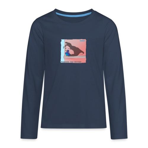 Woofra's Design Heritage - Teenagers' Premium Longsleeve Shirt