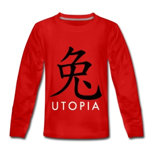Utopia - Mr. Rabbit - Camiseta de manga larga premium adolescente