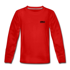 Sponicles Signature Design! - Teenagers' Premium Longsleeve Shirt