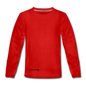 somthing - Teenager Premium shirt met lange mouwen