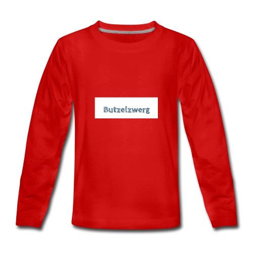 Butzelzwerg - Teenager Premium Langarmshirt