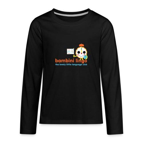 bambini lingo - the lovely little language club - Teenagers' Premium Longsleeve Shirt