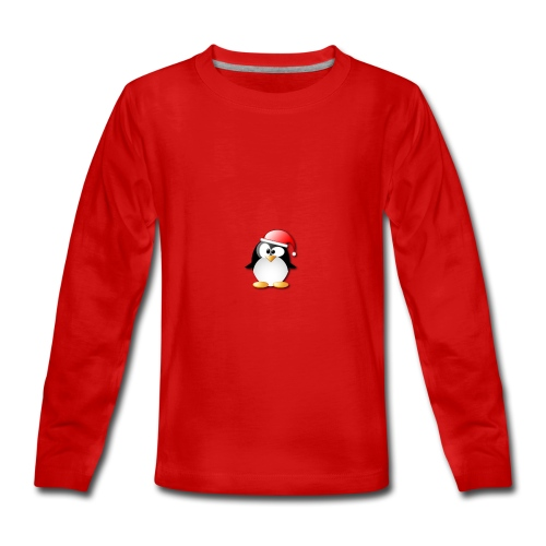 Mr Penguin - Teenagers' Premium Longsleeve Shirt