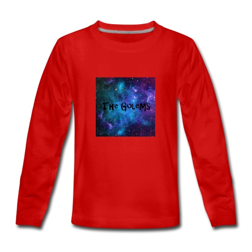 Profile Pic - Teenagers' Premium Longsleeve Shirt