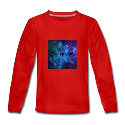 Profile Pic - Teenagers' Premium Longsleeve Shirt